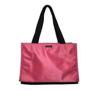 Vintage KATE SPADE Pink Nylon Sam Shoulder Bag